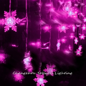 Wholesale GOOD!Clothing store studio showcase shop decoration holiday lamp 1*2m Pink H039(1)