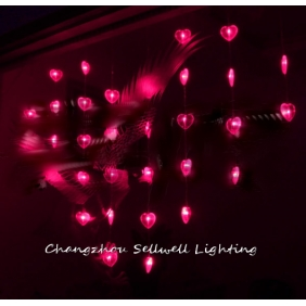 Wholesale GREAT!Christmas lamp backdrop wall wedding decoration 0.95*1.2m pink H072