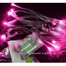 Wholesale GREAT!Festival light yard decoration thick line 2.5m pink H109