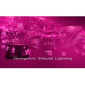 Wholesale GREAT!Festival light wedding celebration product decoration 0.75*8m Pink H129(1)
