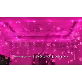 Wholesale GOOD!Agritainment decoration festival lighting wedding Pink H205(6)