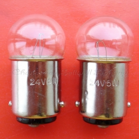 Wholesale Miniature lamp 24v 5w ba15d g19x35  A499 NEW
