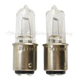 Wholesale NEW!Halogen lamp bulb 24v 50w ba15d A032