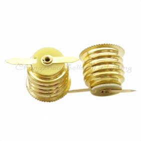 Wholesale Lamp-base E17 Lace with Welding Piece Brass D073 GOOD