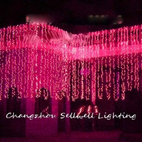 Wholesale NEW!Festival lighting wedding celebration product 4*8m Pink H217(4)