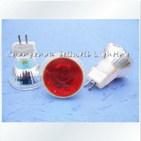 Wholesale MR11 220V 35W Red directional lighting the cold reflection E121