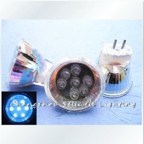 Wholesale Energy stamped decorative glass condenser 220V LED 7 Pearl E139