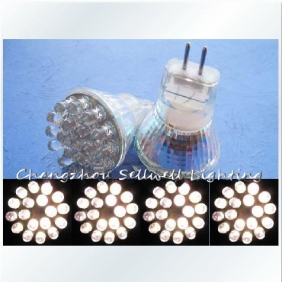 Wholesale NEW!Energy-saving LED18 beads = 10W brightness Warm White 220V MR11 small cup E150