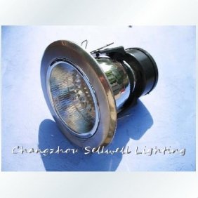 Wholesale Wholesale!Decorative ceiling lamp E27 lamp tube bracket embedded Silver flat 3-inch E200
