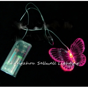 Wholesale NEW!LED light emergency lighting car accessory buttery portable battery lamp Pink H253(2)