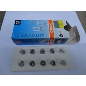 Wholesale NEW! Osram factory bulb show a wide lights light interior lights 12V W5W (T10) L161