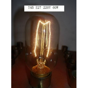 Wholesale NEW! Antique vintage wire around the pyrotechnic special incandescent light bulbs 220V 60W E27 T45 LED089