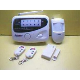 Wholesale NEW!3C certification Security / KH0818 eight-zone alarm system home alarm wireless site BJ029