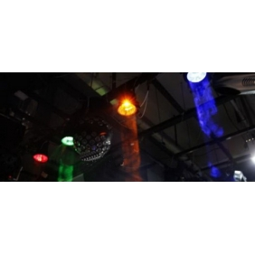 Wholesale GOOD!Beam lamp Disco / dance hall, KTV bar lights Stage Lighting Condenser spotlights 3WLED rain lamp W041