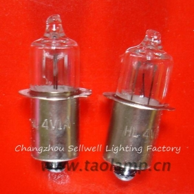 Wholesale NEW!Halogen bulbs 4V 4W P13.5S A730