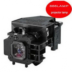 Wholesale NEW!666LAMP NEC projector lamp NP405 with a lighthouse NP14LP T070