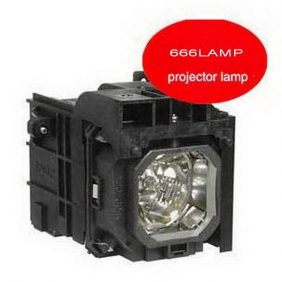 Wholesale HOT!666LAMP NEC projector lamp NP3200 with a lighthouse NP06LP T072