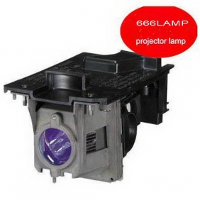 Wholesale GOOD!666AMP NEC projector lamp NP110 with a lighthouse bulb NP13LP T074