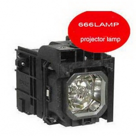 Wholesale NEW!666LAMP NEC projector lamp NP1200 with a lighthouse lamps NP06LP T075