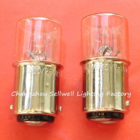 Wholesale Miniature lamp 220v 260v 7w-10w ba15d t16x36 A629 NEW