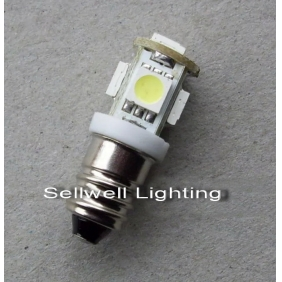 Wholesale GREAT!LED Indicating Lamp 5SMD-5050 24V 2.5W E10 Screw type Light Color Yellow,Red,Blue,Green,White LED144