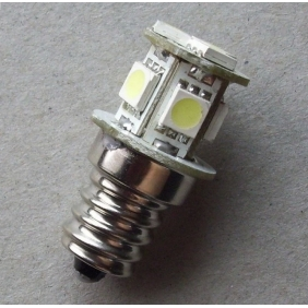 Wholesale GREAT!LED Indicating Lamp E12 Screw type 8SMD-5050 DC12V  Light Color Yellow,Red,Blue,Green,White LED187