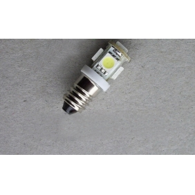 Wholesale GREAT!LED Indicating Lamp E10 Screw type T10-5SMD-5050 DC18V 2.5W Light Color Yellow,Red,Blue,Green,White LED243