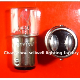 Wholesale Miniature bulb light 30v 10w ba15d T16x36 A726 NEW