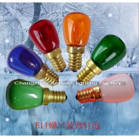 Wholesale Miniature Lamp Screw decorative bulb 220V 10W E14 A1201