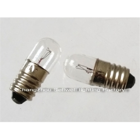 Wholesale Miniature Lamp bulbs 12V 0.1A 3W 5W E10 A1187