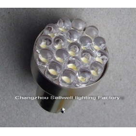 Wholesale LED LAMP 12V24V  1-2W BA15S 19led lights A1134