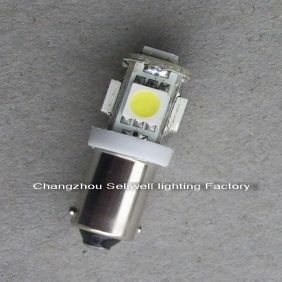 Wholesale LED LAMP 12v24v30v 2.5W T10 BA9S 5smd-5050 A1121