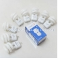 Wholesale NEW!Energy-saving light bulbs pin Crystal Light Lamp small spiral the 12v 5w G4 white  A971-1